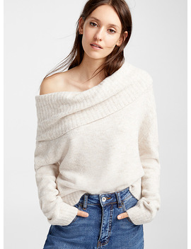 Mega Cowl Neck Sweater by Icône