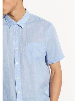 Linen Short Sleeve by Vince