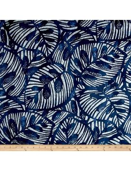 Golding By P/Kaufmann Gallant Leaf Lapis Fabric by Fabric