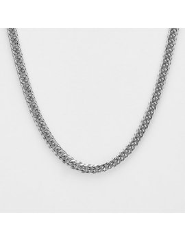 Silver Chain Necklace by Redemption