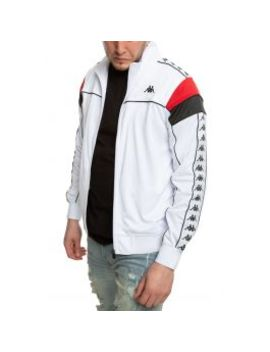 222-banda-merez-slim-track-jacket-in-white by kappa