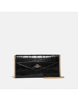 Envelope Chain Wallet by Coach