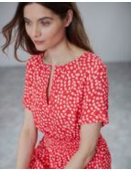 Paloma Smocked Waist Dress by Joules
