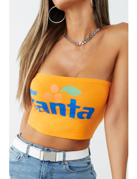 Fanta Graphic Tube Top by Forever 21