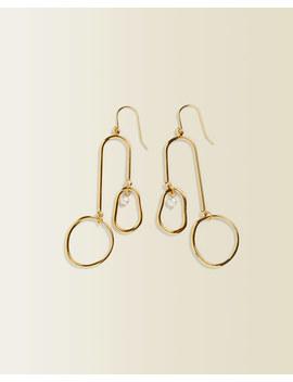 Statement Pearl Earrings by Jigsaw