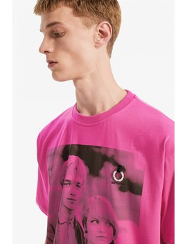 Raf Simons Printed T Shirt by Fred Perry
