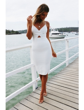 Brooke Dress   White by Stelly