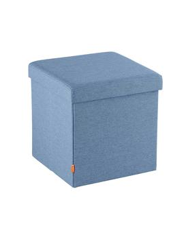Slate Blue Poppin Box Seat by Container Store