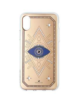 Tarot Eye Smartphone Case, I Phone® X/Xs, Pink Gold by Swarovski