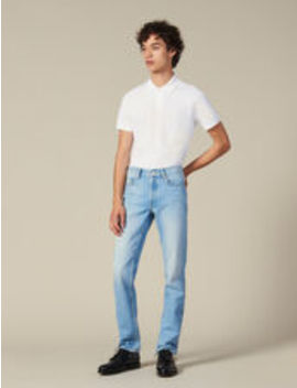 Washed Slim Jeans by Sandro Eshop