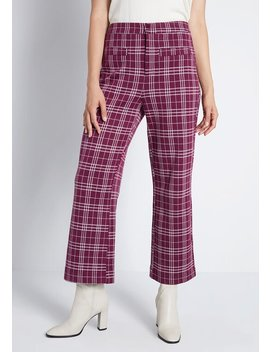 Walk This Way Wide Leg Pants by Modcloth