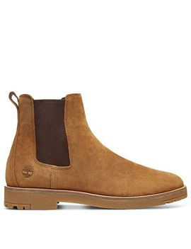 Folk Gentleman Chelsea Boot For Men In Light Brown by Timberland