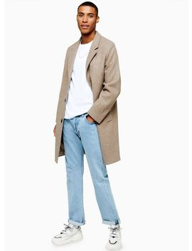 Oat Overcoat by Topman
