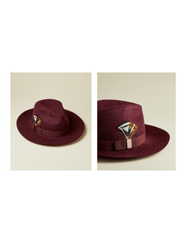 Wide Bow Fedora by Ted Baker