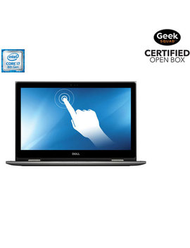 Dell 15.6 Touchscreen 2 In 1 Laptop (Intel Core I7 8550 U/512 Gb Ssd/16 Gb Ram/Win 10)   Eng   Open Box by Best Buy