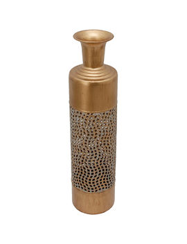 6 X24 In Gold Redmetal Vase6 X24 In Gold Redmetal Vase by At Home