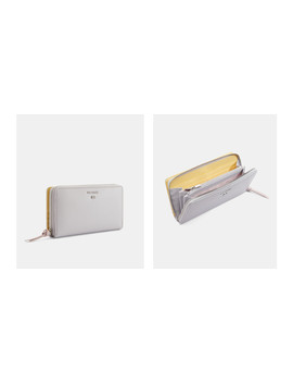Colour Block Bifold Leather Matinee Purse by Ted Baker