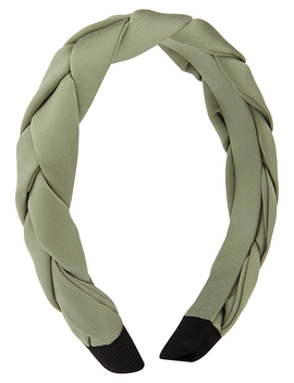 Plaited Alice Band by Accessorize