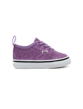 Toddler Glitter Authentic Elastic Lace Shoes (1 4 Years) by Vans