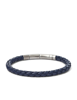 Braided Leather Bracelet by Fossil