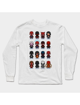 Spixel Verse! Long Sleeve T Shirt by Sorrytoosmall