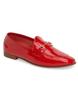 Women's Red Karpenter Loafer by Topshop