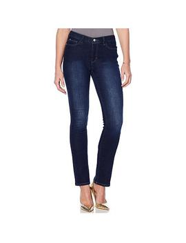 """<Span Class=""""Callout Exclusive"""">Exclusive!</Span>   G By Giuliana Downtown Denim Slim Straight Jean by G By Giuliana"""