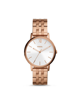 Cambry Three Hand Rose Gold Tone Stainless Steel Watch by Fossil