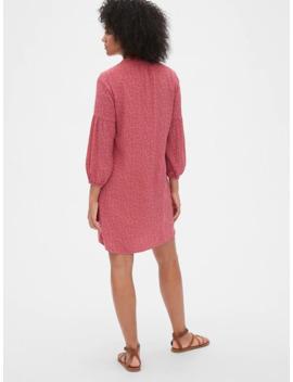 Print Peasant Dress by Gap