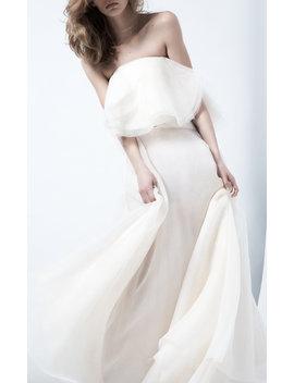 Heaven Float Asymmetric Silk Maxi Skirt by Maticevski