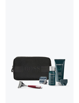 Toiletry Bag With Harry's Shaving Set by Boss
