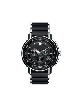 Men's Movado Strato™ Black Pvd Chronograph Watch With Black Dial (Model: 0607006) by Zales