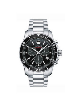 Men's Movado Series 800® Chronograph Watch With Black Dial (Model: 2600142) by Zales