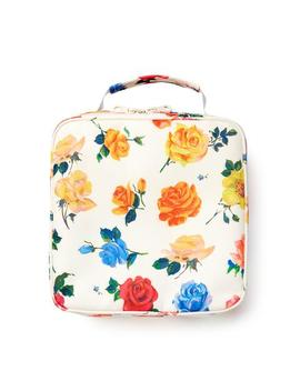 What's For Lunch? Square Lunch Bag   Coming Up Roses by Ban.Do