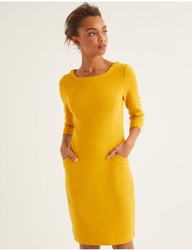jasmine-ottoman-dress---saffron by boden