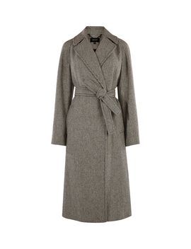 Wrap Tailored Coat by Cf002