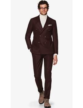 Havana Burgundy Suit by Suitsupply