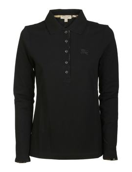Burberry Long Sleeved Polo Shirt by Burberry