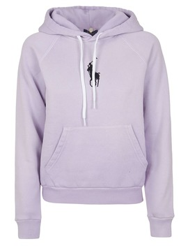 Polo Ralph Lauren Logo Embroidered Hoodie by Polo Ralph Lauren