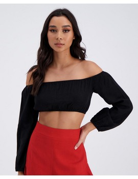 New Wave Crop Top by Ava And Ever