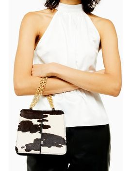 Sian Cow Shoulder Bag by Topshop