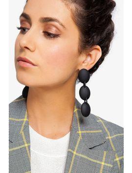 3 Drop Resin Earrings by Topshop