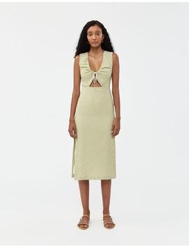 Chambao Dress In Medium Green by Paloma Wool