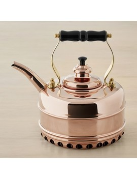 Simplex Buckingham No 1 By Newey & Bloomer Copper Rapid Boil Tea Kettle by Williams   Sonoma