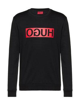 Sweatshirt Aus Baumwolle Mit Reversed Logo by Boss
