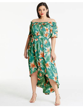 Lovedrobe Print Maxi Dress by Simply Be