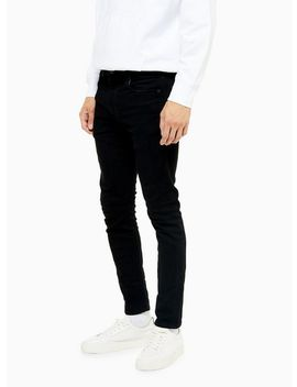 Levi's 519 Black Skinny Hi Ball Jeans by Topman