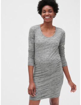 Maternity Long Sleeve T Shirt Dress by Gap