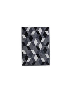 Argos Home Geo Rug   120x160cm   Black And White by Argos