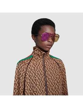 Mask Sunglasses by Gucci
